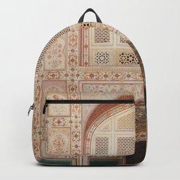 Amber Fort Door  Backpack