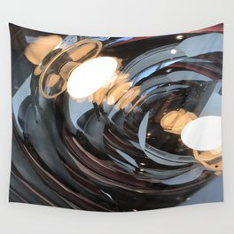 lighting reflects a circle, abstract smooth Wall Tapestry