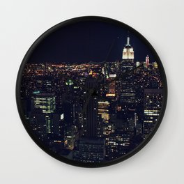 Nightlights Wall Clock