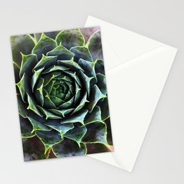 Sacred Succulent Stationery Cards