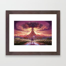 Death Mountian Framed Art Print