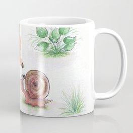 Foxy and a snail Coffee Mug