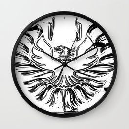 Firebird II Wall Clock