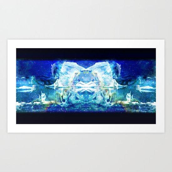Arctic Void Art Print