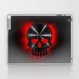 Vinyl Skull RED / The end of tunes Laptop & iPad Skin