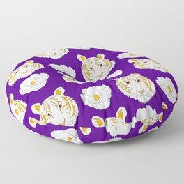 LSU purple Floor Pillow