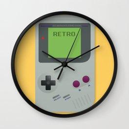 Retro Gameboy Wall Clock