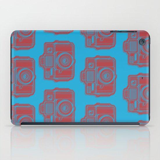 I Still Shoot Film Holga Logo - Blue & Red iPad Case
