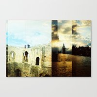england Canvas Prints featuring England by magsjoy