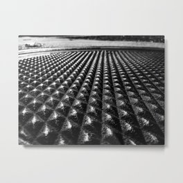 Manhole Cover-Fort Smith, Arkansas Metal Print