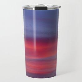 Pink and Blue Skies Travel Mug