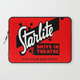 Starlite Drive In Red Laptop Sleeve