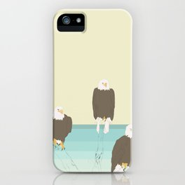 Bald Eagles iPhone Case