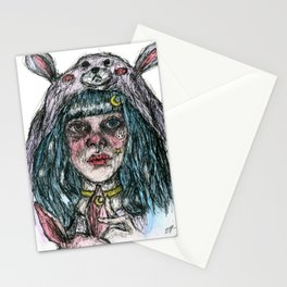 Morgan The Bunny Stationery Cards
