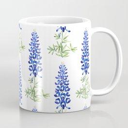 Texas bluebonnet in watercolor Coffee Mug
