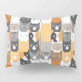 Herded Cats Pillow Sham