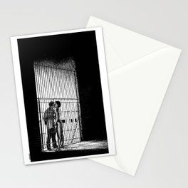 asc 933 - Les amants maudits (Two sides) Stationery Cards