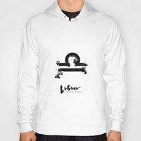 libra Hoodies featuring Libra by Make-Ready