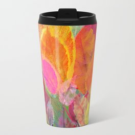 Leaf mosaic(30) Travel Mug