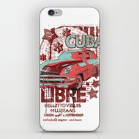 cuba iPhone & iPod Skins featuring Cuba Libre by Tshirt-Factory