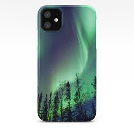Northern Lights in Yellowknife iPhone Case