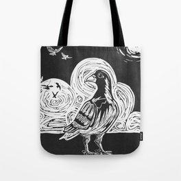 Proud Pigeon Tote Bag
