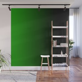 green black feelings Wall Mural