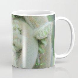 Furled Fern Soon to Unfurl Coffee Mug