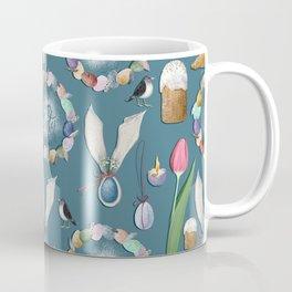 HAppy Easter pattern. Coffee Mug