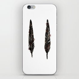 Two Feathers iPhone Skin