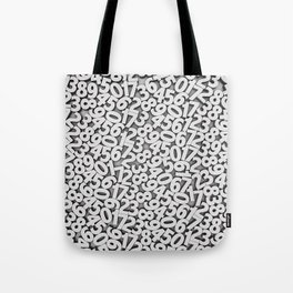 By the numbers Tote Bag