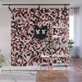 Save cat camo r and w Wall Mural