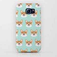 Corgi glasses cute funny dog gifts for welsh corgi dog breed owners must haves by pet friendly Galaxy S7 Slim Case