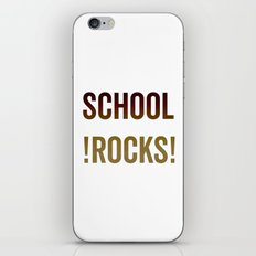 School Rocks! iPhone & iPod Skin