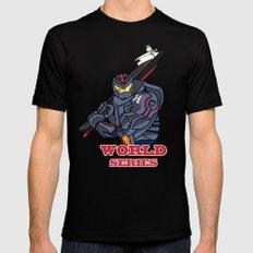 THE world series Mens Fitted Tee Black MEDIUM