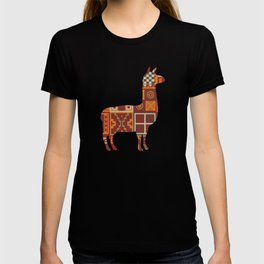 Llama Inca Textiles Gift For Llama Lover T-shirt