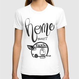 HOME SWEET HOME RV CAMPER T-shirt