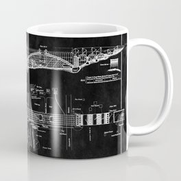 George Washington Bridge Blueprint Coffee Mug