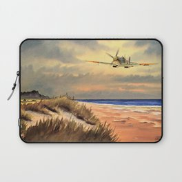Supermarine Spitfire MK IX Aircraft Laptop Sleeve