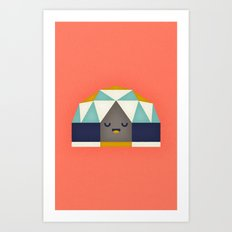 Geodesic Dome Art Print