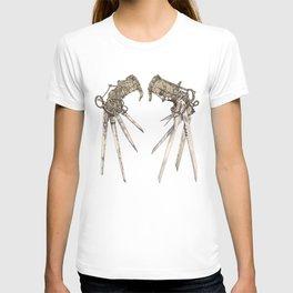 Scissorhands (Sepia) T-shirt