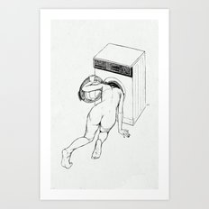 Wrong Door Art Print