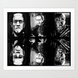 Horror Blankie Art Print