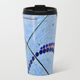 Abstract Baltimore Mirror Mosaic Travel Mug