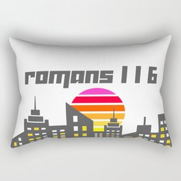 Romans 1:16 Rectangular Pillow
