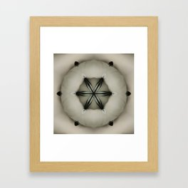Space Pillow Framed Art Print