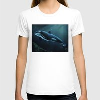 orca T-shirts featuring Orca by Wesley S Abney