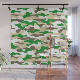 Camouflage Pattern_A Wall Mural