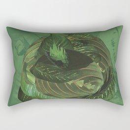 ...Green... Rectangular Pillow
