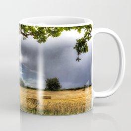 The field beyond the tree. Coffee Mug